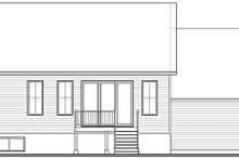 Craftsman Exterior - Rear Elevation Plan #23-2728