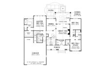 Country Floor Plan - Main Floor Plan Plan #929-940