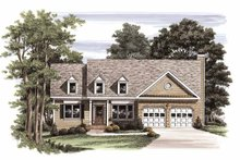 Country Exterior - Front Elevation Plan #927-555