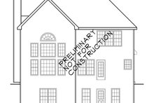 Country Exterior - Rear Elevation Plan #927-829