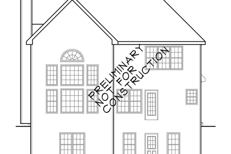 Country Exterior - Rear Elevation Plan #927-829 - Houseplans.com