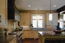 House Plan Design - European Interior - Kitchen Plan #928-180