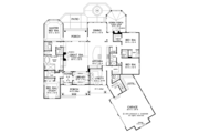 Ranch Style House Plan - 4 Beds 4 Baths 3045 Sq/Ft Plan #929-1007 Floor Plan - Main Floor Plan
