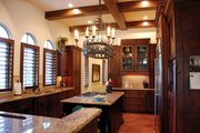 Mediterranean Style House Plan - 3 Beds 3 Baths 4795 Sq/Ft Plan #1058-15 Interior - Kitchen