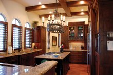 Architectural House Design - Mediterranean Interior - Kitchen Plan #1058-15