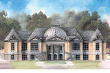 Country Exterior - Front Elevation Plan #119-400