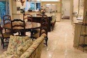 European Style House Plan - 4 Beds 5.5 Baths 5157 Sq/Ft Plan #928-65 Interior - Kitchen