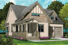Craftsman Exterior - Front Elevation Plan #413-897