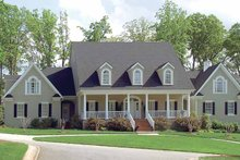 House Plan Design - Classical Exterior - Front Elevation Plan #453-192