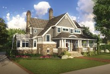 Craftsman Exterior - Front Elevation Plan #928-185