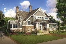Craftsman Exterior - Front Elevation Plan #928-185