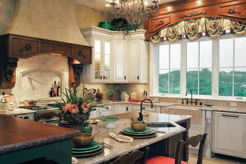 Mediterranean Interior - Kitchen Plan #46-758 - Houseplans.com