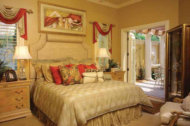 Mediterranean Interior - Bedroom Plan #930-34 - Houseplans.com