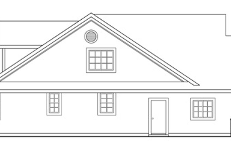 Exterior - Other Elevation Plan #124-342 - Houseplans.com
