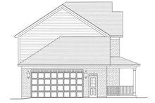 House Plan Design - Traditional Exterior - Other Elevation Plan #46-800
