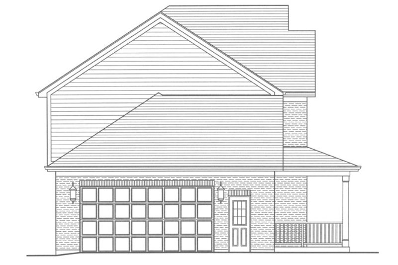 Traditional Exterior - Other Elevation Plan #46-800 - Houseplans.com