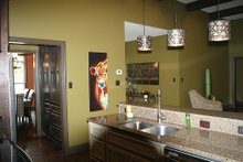 Architectural House Design - Craftsman style home, kitchen photo