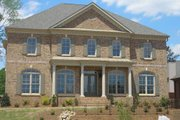 European Style House Plan - 5 Beds 4 Baths 3073 Sq/Ft Plan #119-122 Exterior - Other Elevation