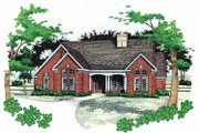 Traditional Style House Plan - 3 Beds 2 Baths 1675 Sq/Ft Plan #120-196