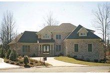 Craftsman Exterior - Front Elevation Plan #453-572