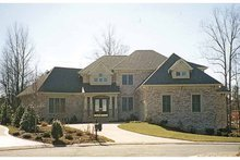 House Plan Design - Craftsman Exterior - Front Elevation Plan #453-572