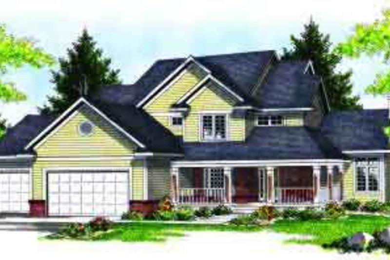 Dream House Plan - Traditional Photo Plan #70-624