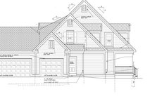 House Plan Design - Colonial Exterior - Other Elevation Plan #328-460