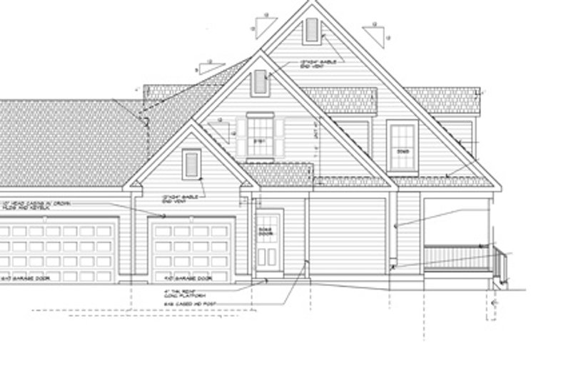 Colonial Exterior - Other Elevation Plan #328-460 - Houseplans.com