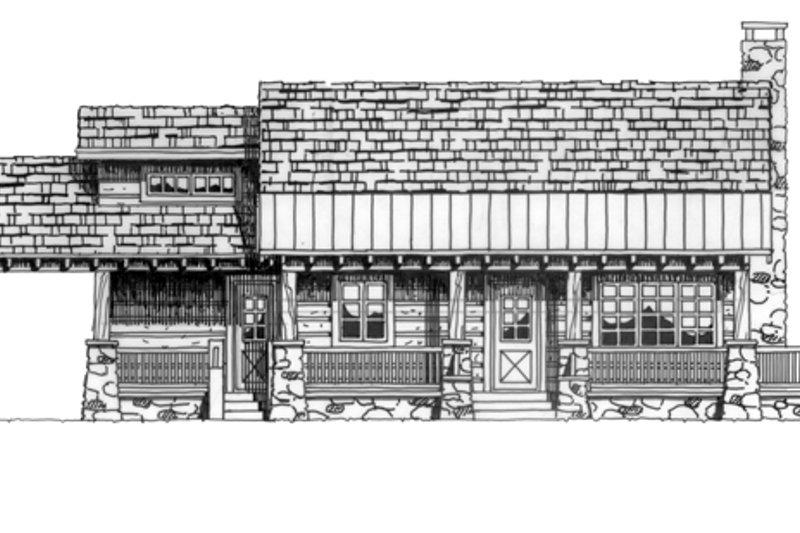 Cabin Exterior - Front Elevation Plan #942-22 - Houseplans.com