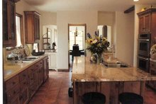 Mediterranean Interior - Kitchen Plan #937-16