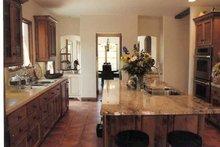 Mediterranean Interior - Kitchen Plan #937-16