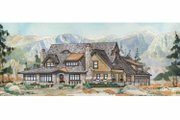 Craftsman Style House Plan - 4 Beds 3.5 Baths 5319 Sq/Ft Plan #928-237 Exterior - Front Elevation