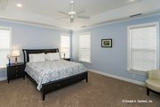 European Style House Plan - 4 Beds 3 Baths 2453 Sq/Ft Plan #929-3 Interior - Master Bedroom