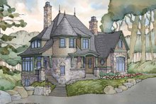Craftsman Exterior - Front Elevation Plan #928-244