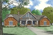 Ranch Style House Plan - 3 Beds 3.5 Baths 3415 Sq/Ft Plan #923-88 Exterior - Front Elevation