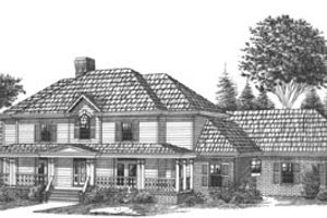 Traditional Exterior - Front Elevation Plan #15-231