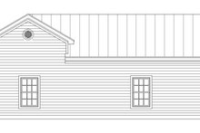 Country Exterior - Rear Elevation Plan #932-141