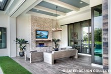 Contemporary Exterior - Outdoor Living Plan #930-477