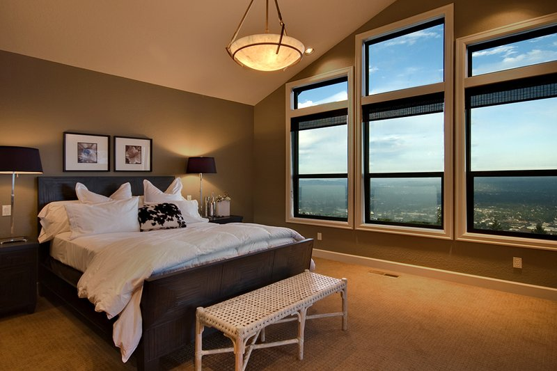 Craftsman Interior - Master Bedroom Plan #124-753 - Houseplans.com
