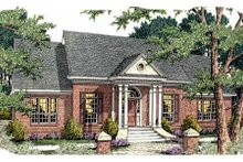 Dream House Plan - Southern Exterior - Front Elevation Plan #406-291