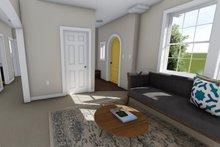 Ranch Interior - Entry Plan #1060-38