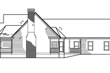 Dream House Plan - Victorian Exterior - Other Elevation Plan #1047-27