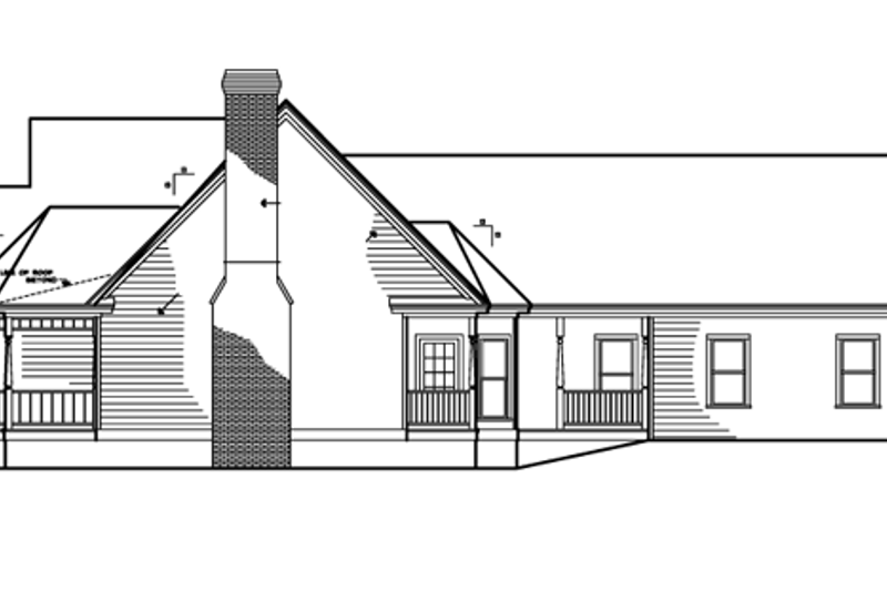 Victorian Exterior - Other Elevation Plan #1047-27 - Houseplans.com