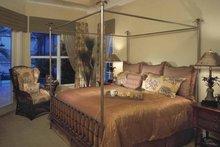 Architectural House Design - Mediterranean Interior - Master Bedroom Plan #930-322