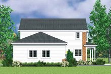 Country Exterior - Other Elevation Plan #72-1111