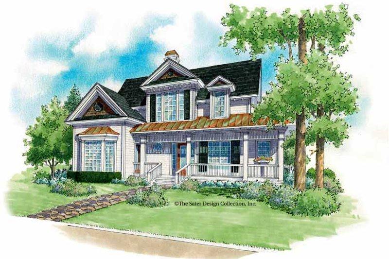 House Plan Design - Victorian Exterior - Front Elevation Plan #930-179