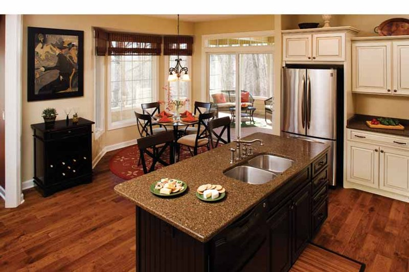 Country Interior - Kitchen Plan #929-701 - Houseplans.com