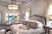 Mediterranean Style House Plan - 3 Beds 3.5 Baths 3433 Sq/Ft Plan #930-444 Interior - Master Bedroom