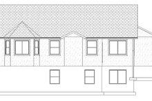 Ranch Exterior - Rear Elevation Plan #1060-12