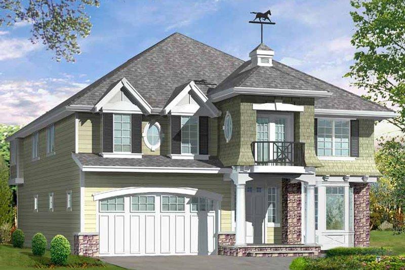 Craftsman Exterior - Front Elevation Plan #132-462 - Houseplans.com